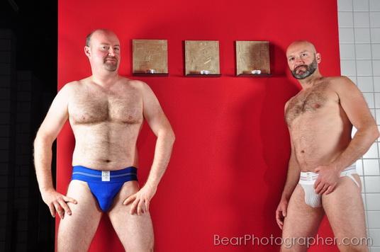 muscle bear couple - erotic aesthetic photos
