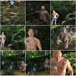 nude men in nature