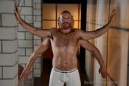 hairy guys in design bath house