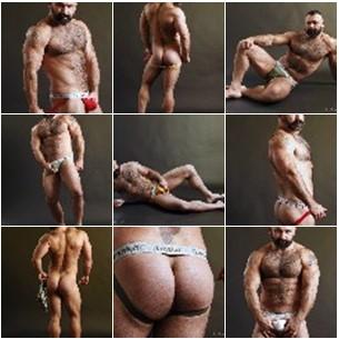 muscle men in jock straps
